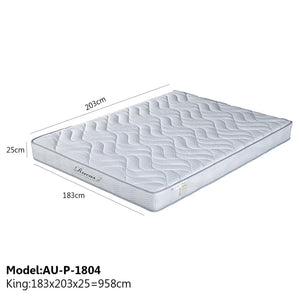 Spring Comfort Memory Foam - King - Mattress