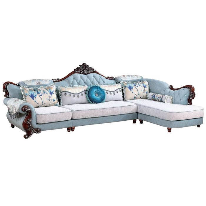 Stunning 1 + 3 Seat + Chaise Bed
