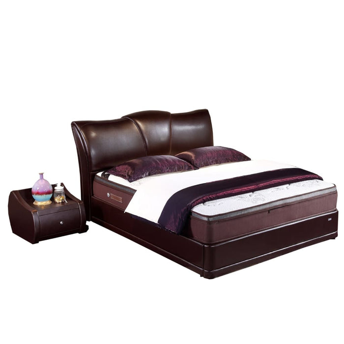 Sturdy Upholstered Platform Bed for all Seasons