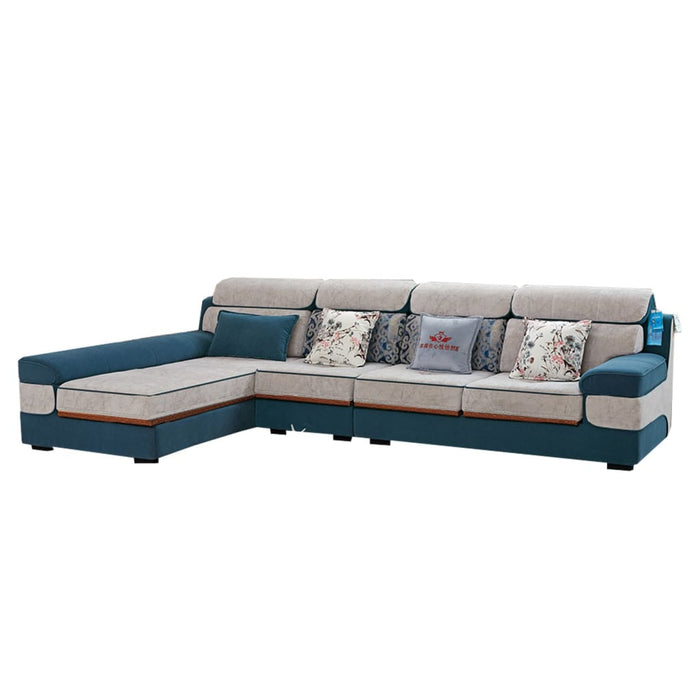 Stylish Sectional Sofa With Excellent Reclining Features