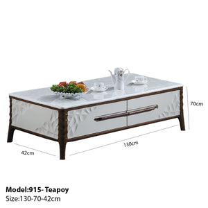 Teapoy with Convenient Storage Space - Teapoy