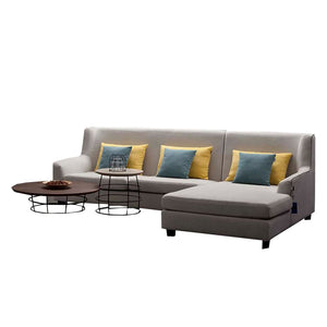 Triple seat+Right chaise sofa+1-seat Armrest sofa - Sofa Chaise