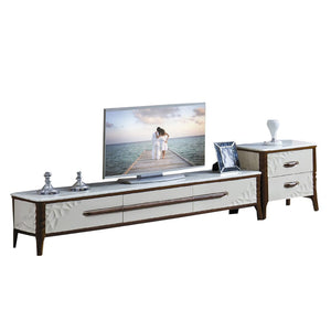 TV Stand with Cable Management - Tv Cabinet