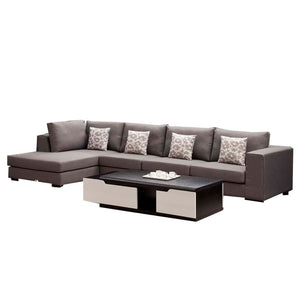 Uptown Left chaise sofa+ 1 seat+ 3 seat Sofa Bad. - Sofa Chaise