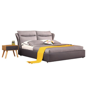 Venus Ivory Gray Bed - Bed