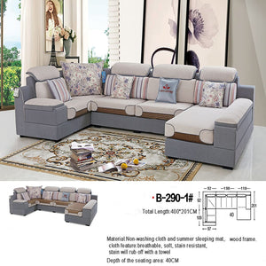 Versatile and Comfortable Modern Sectional Sofa - Sofa Chaise