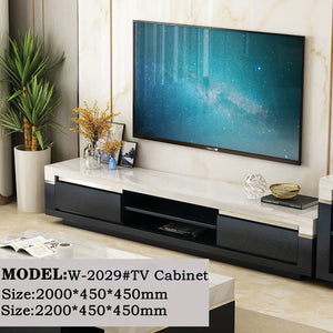 Rodrigo Marble Surface Tv Cabinet
