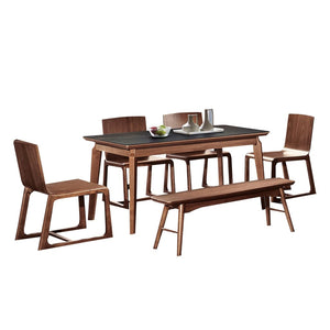 Walnut wood Dining Table - Dining Table