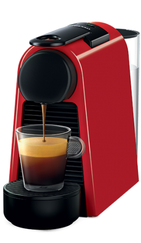 Machine Nespresso Essenza mini- Rouge