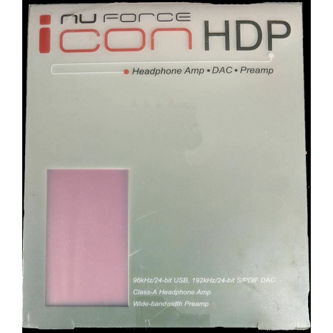 NuForce Icon HDP Red