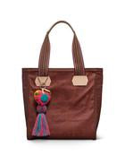 Consuela Teddy Brick Canvas Classic Tote