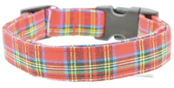 Tartan Plaid Small Collar