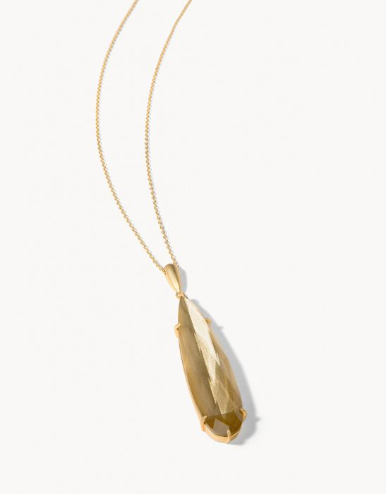 Dewdrop Necklace Gilded Gold