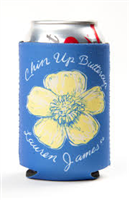 Blue Buttercup koozie