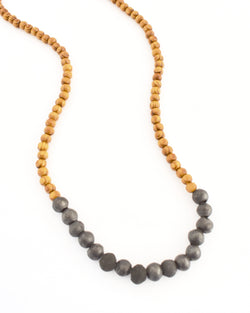 Alexis Necklace Gunmetal