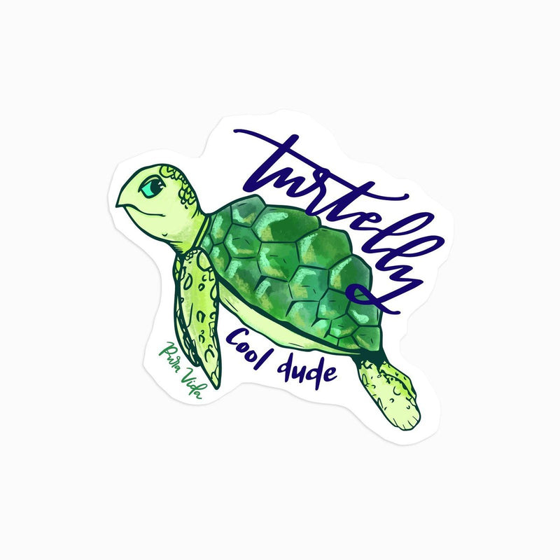 Turtelly Cool Sticker