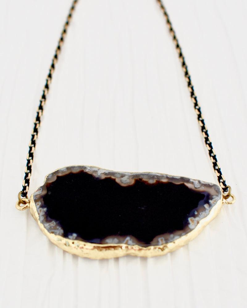 Noelle Necklace Black