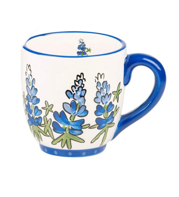 Blue Bonnet Mug