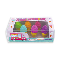 Petite Sweets Ice Cream Shoppe Scented Erasers