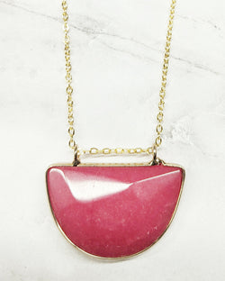 Olivia Necklace Pink