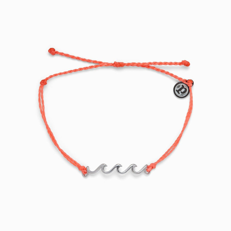 Delicate Wave Bracelet Strawberry