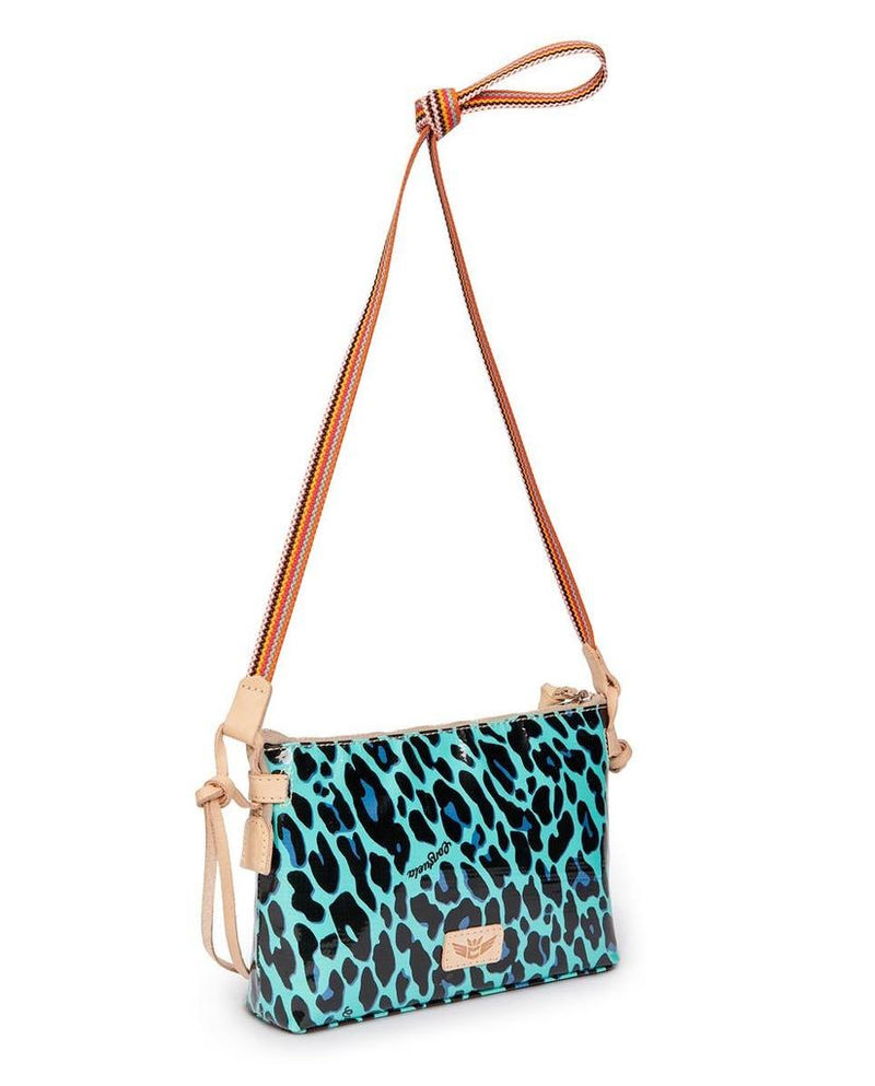 Teeny Crossbody, Gem Ocean Jag