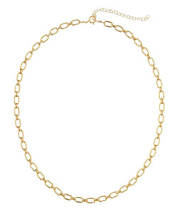 Calle Necklace Gold