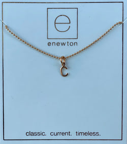 Respect Gold Charm Necklace C