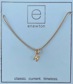 Respect Gold Charm Necklace H