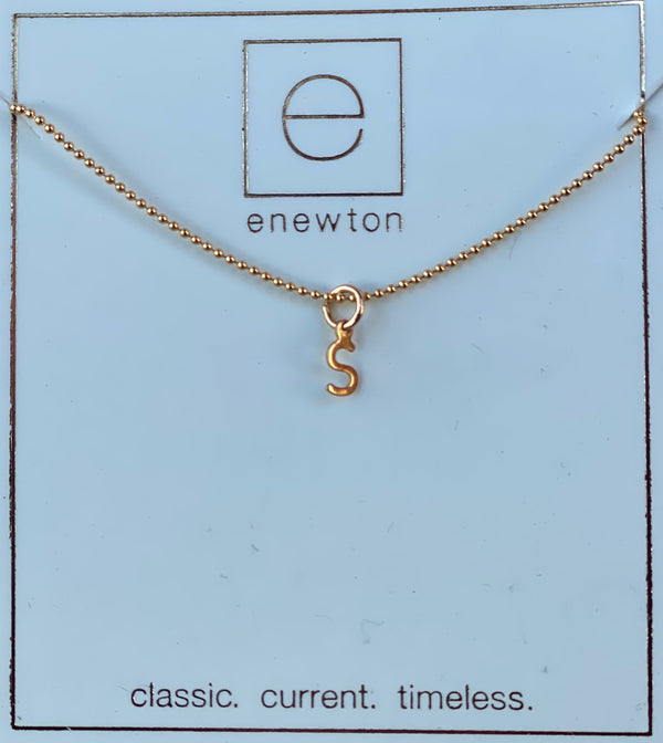 Respect Gold Charm Necklace S