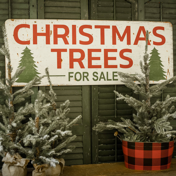 Large Trees Sign