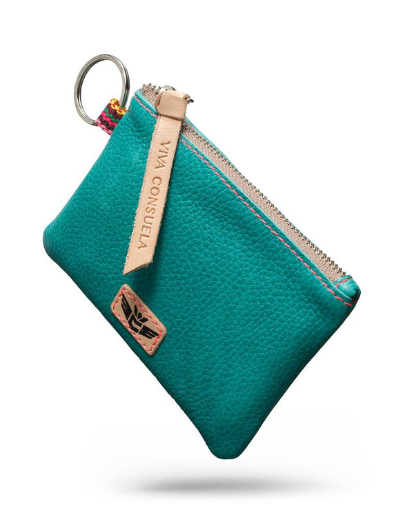 Consuela Teeny Pouch Guadalupe Turquoise