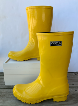 Emma Mid Calf Yellow