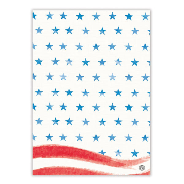 Red White & Blue Kitchen Towel