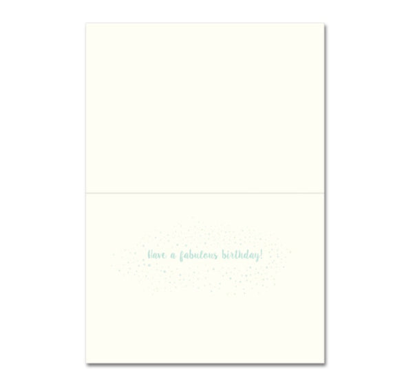 Greeting Card Ombre Birthday