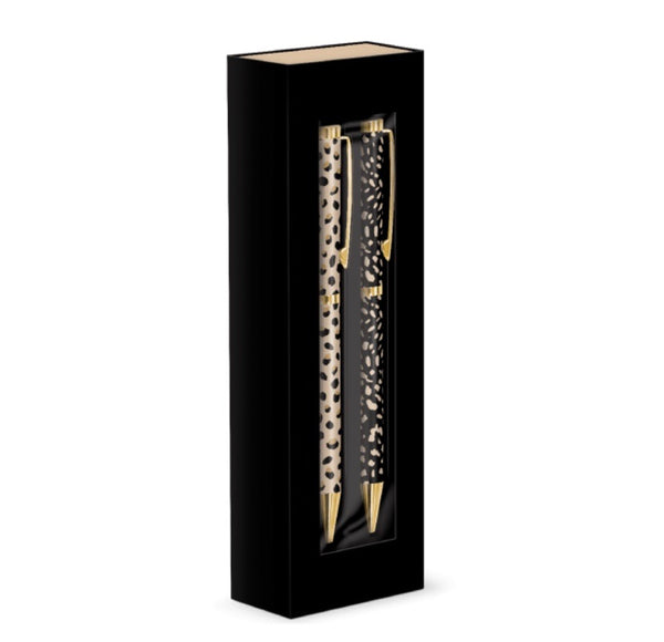 Boxed Pen Set of 2 - Abstract Animal