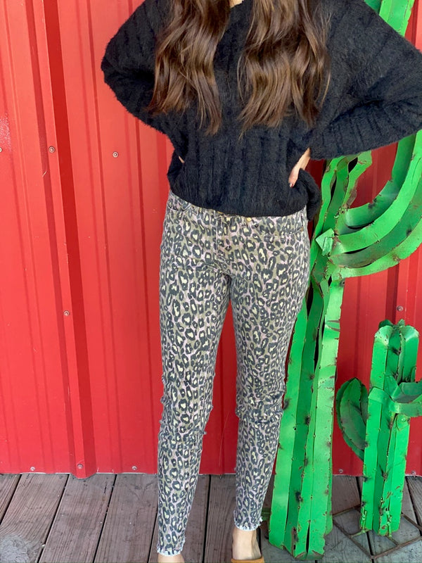 Animal Printed Waisted Elastic