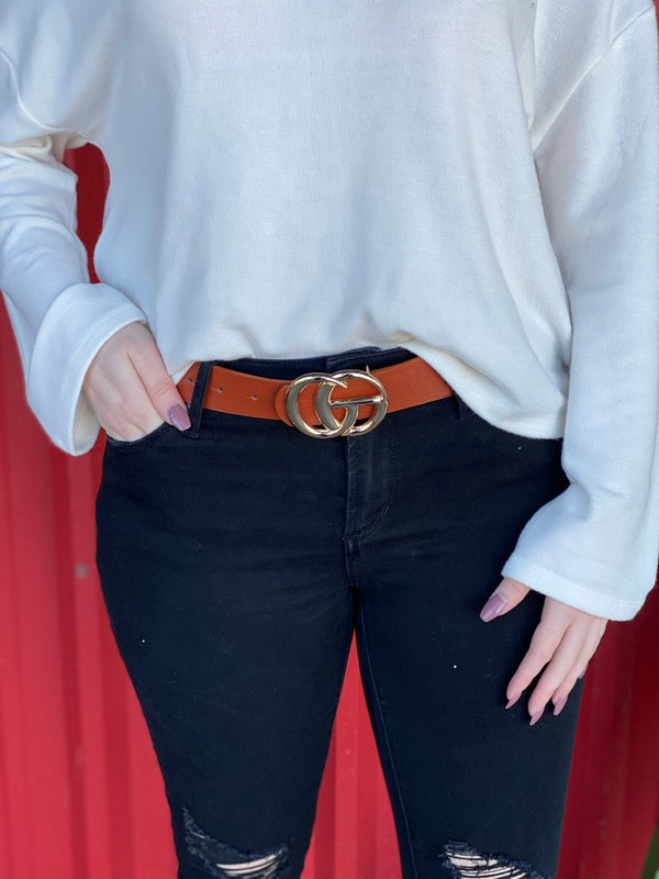Classic Leather CG Belt