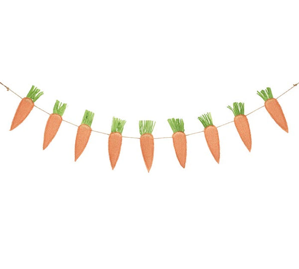 Wall Hanging Carrot Banner