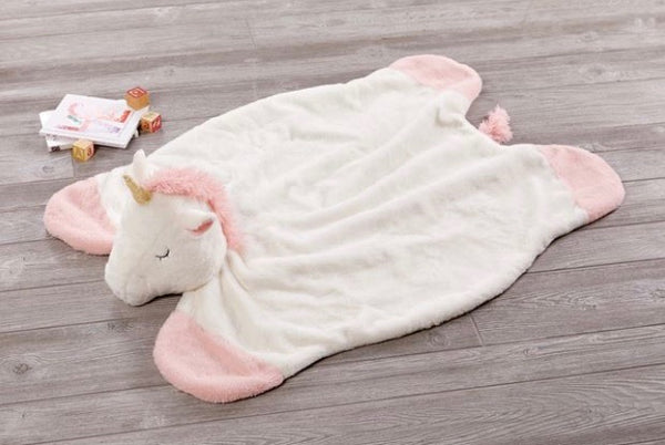 Plush Unicorn Play Mat