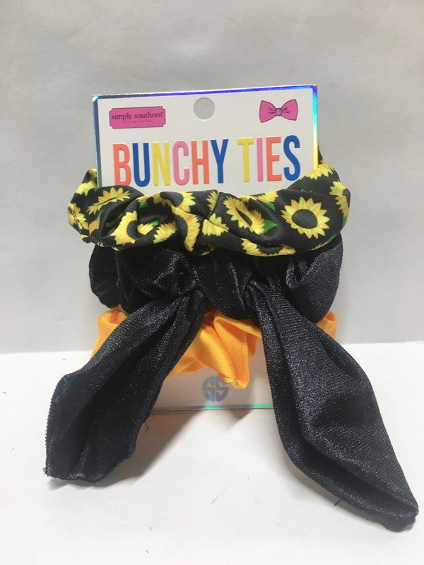 Bunchyties Sunflower Black