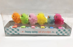 Hand-Crafted Pom Pom Clip-Ons in a Gift Box