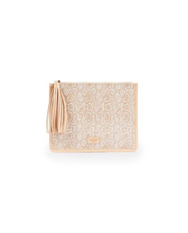 Anything Goes Pouch, Clay Beige