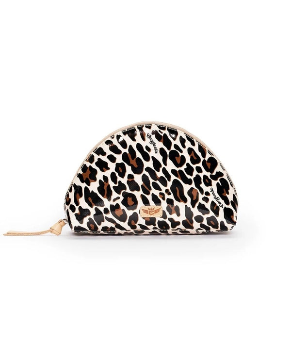 Large Cosmetic, Mona Brown Leopard
