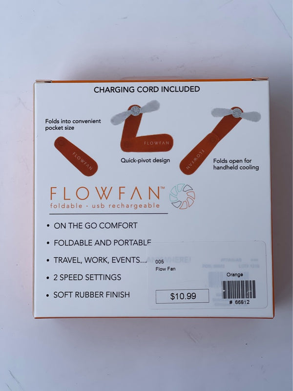 Flow Fan Orange