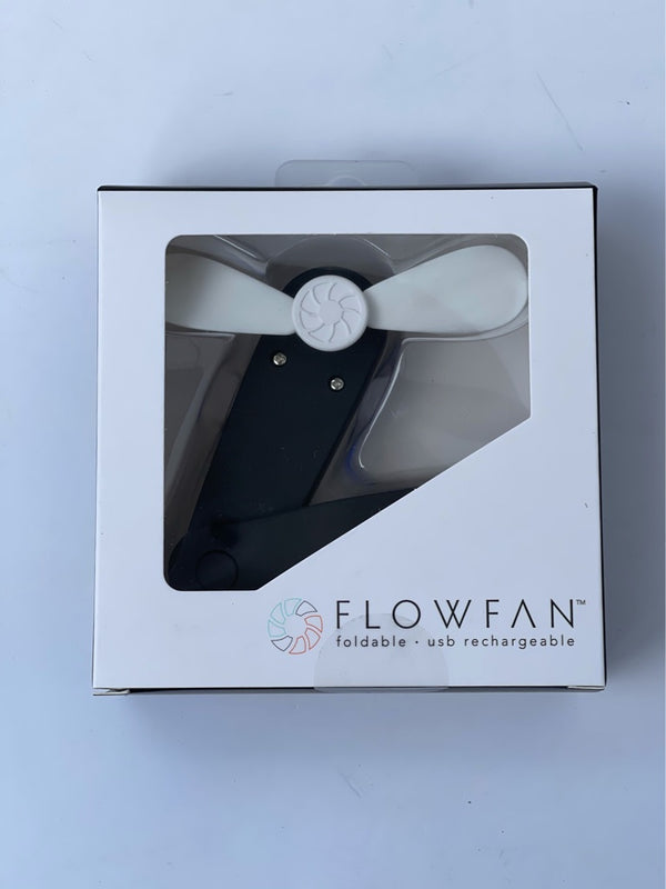 Flow Fan Black