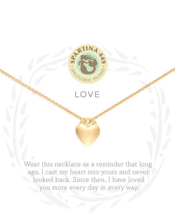Love in Heart Necklace