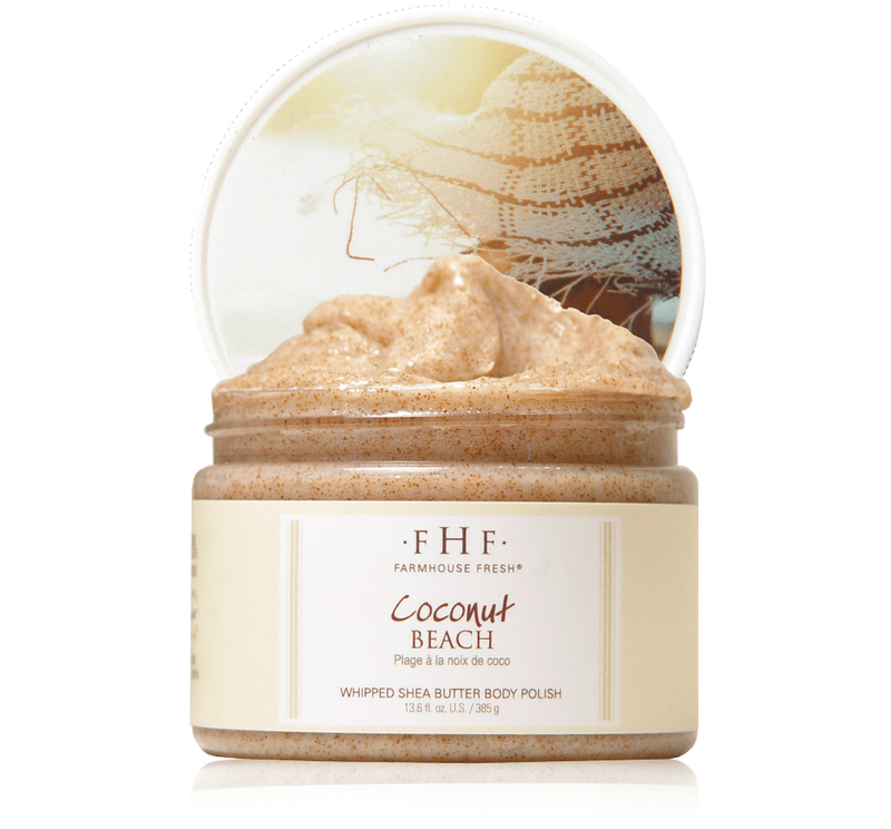 Coconut Beach Sugar Body Scrub 12 oz
