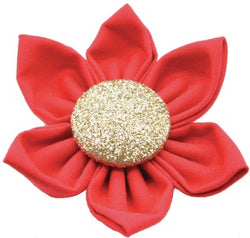 Flower Red Gold