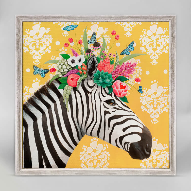 Haute House Zebra Canvas